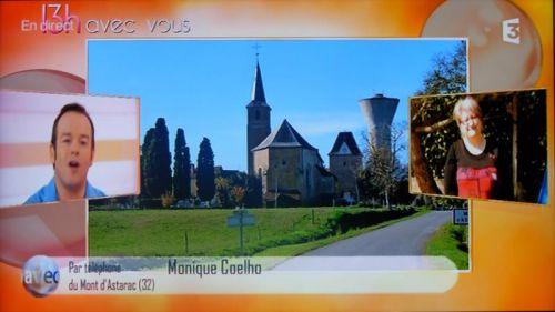 Patrimoine du village (émission 13h avec vous dans le Sud Ouest, FR3 Midi Pyrénées)
