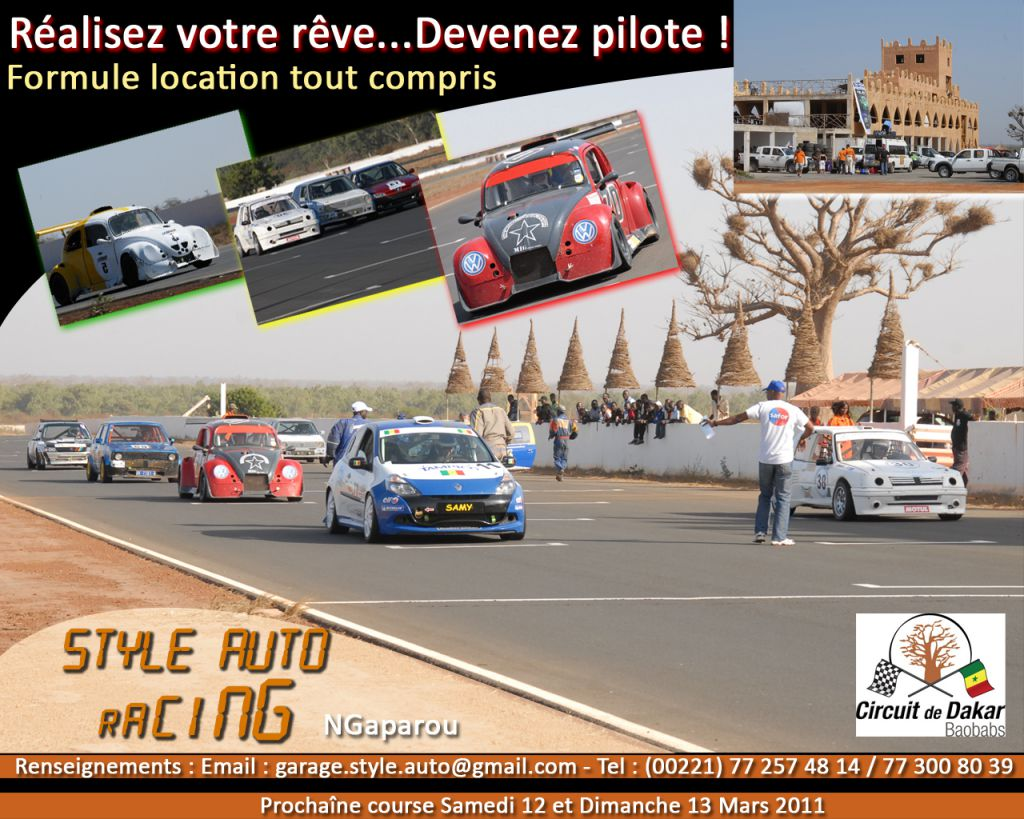 Le tarif des stages style auto racing for Tarif garage automobile