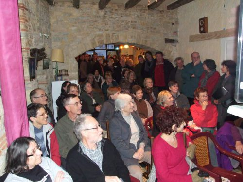 Un auditoire très attentif