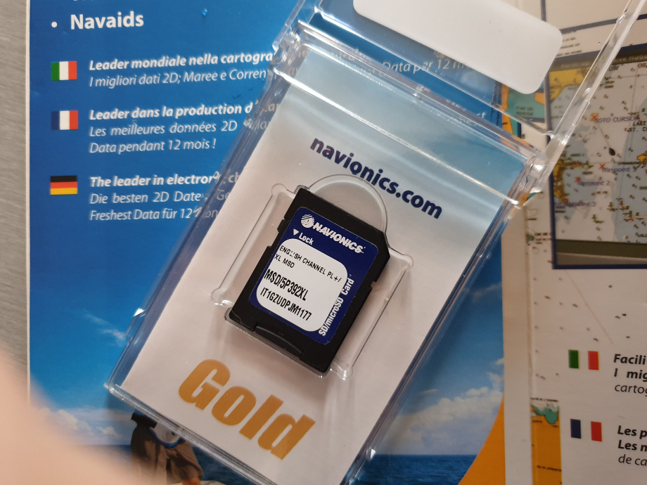 carte navionics gold SD