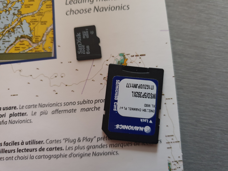 Carte navionics gold MICRO SD