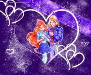 un eclair d amour pour sky et bloom!!!