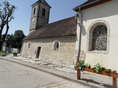 Profil de l'église du Franois