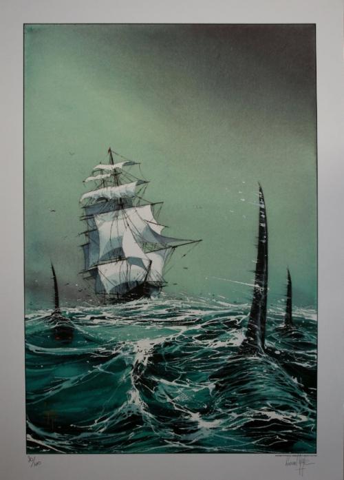 Dessin de Emmanuel Lepage (Le voilier et les orques).jpg