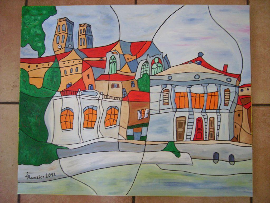 Tableaux A Vendre Sur Verdun Peintures D Ives Rauzier