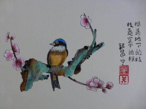 Oiseau Style Gongbi