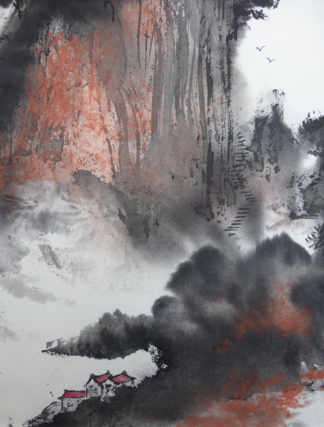 Monts Huang Shan - Détail