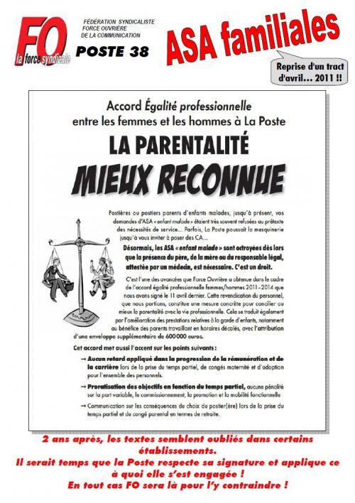 tract ASA familiale