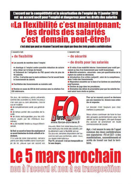 grève 5 mars