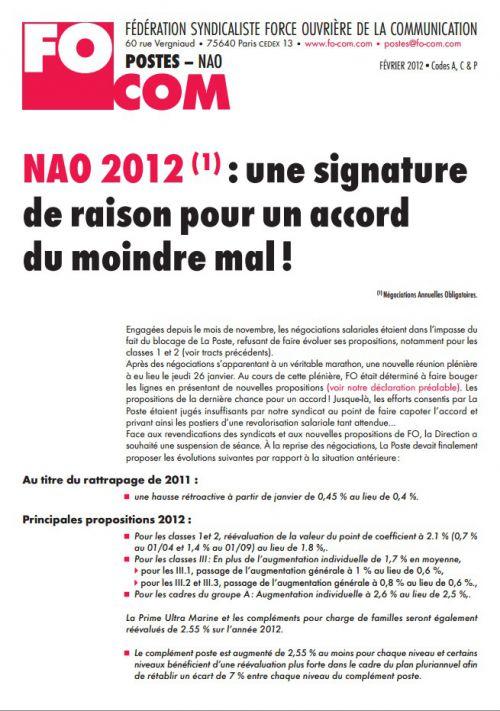 NAO 2012 signature