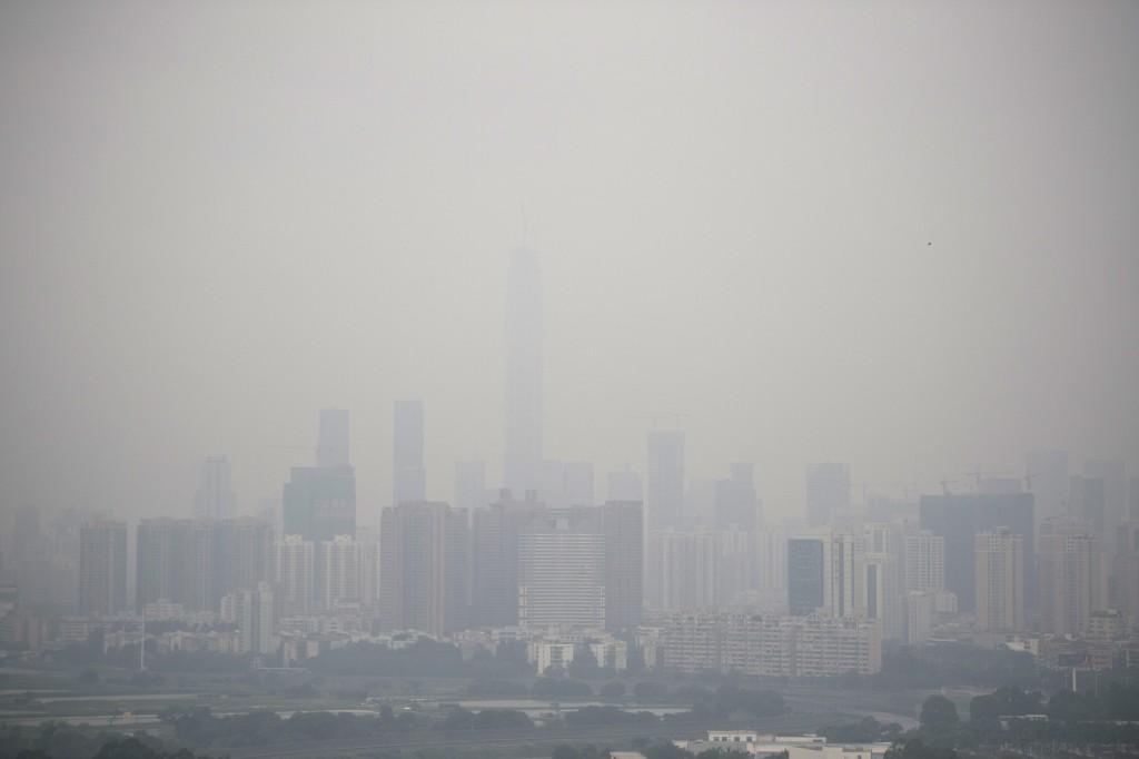 pollution d'une ville en chine 2015.jpg