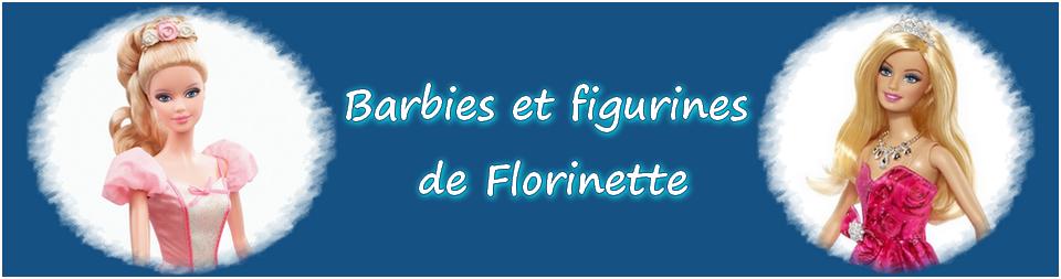 Barbies et figurines de Florinette