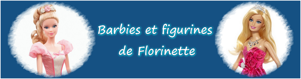 Barbies et figurines de Florinette