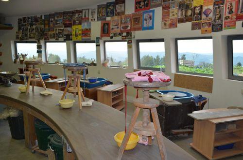 L'atelier - Poterie Le Don du Fel - Aveyron