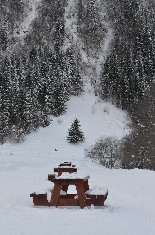 Lac des Plagnes près d'Abondance - Haute Savoie
