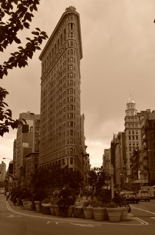 The flatiron Building New York