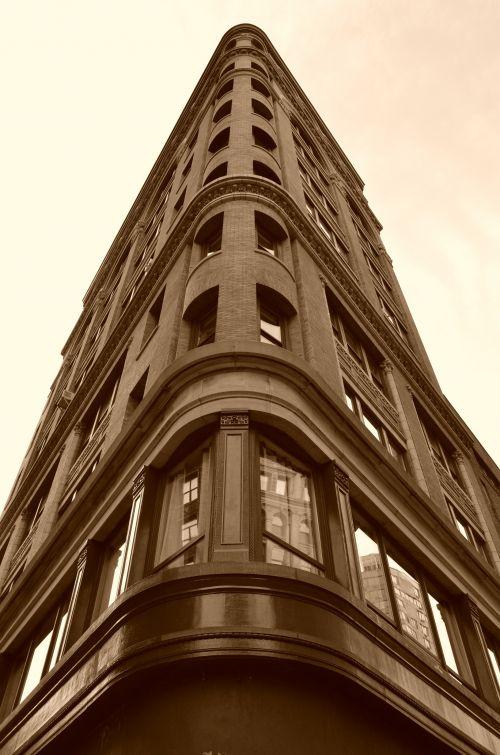 Immeuble sur Broadway New York