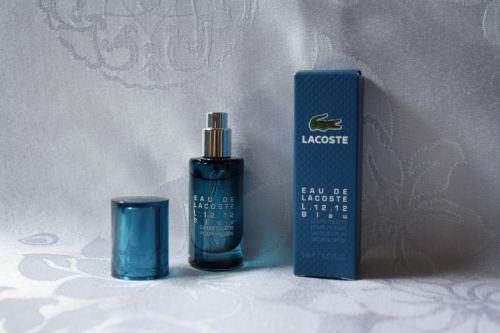 EAU DE LACOSTE L.12.12 Bleu eau de toilette pour homme vaporisateur 8ml