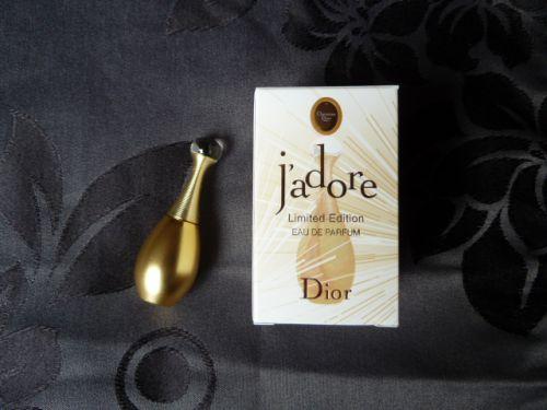 J ADORE eau de parfum edition limitée flacon or 5ml