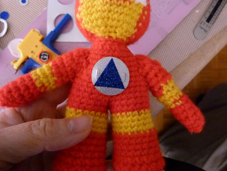 Amigurumi Iron Man Mai 2015 Le Pr 233 Cieux De Carni