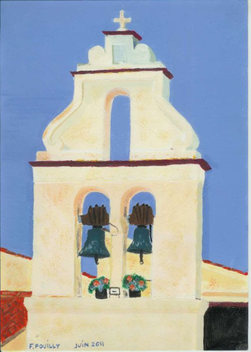 Le clocher de Corfou
