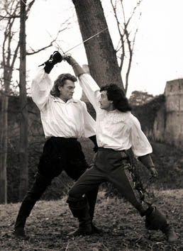 Jean Marais et Gérard Barray