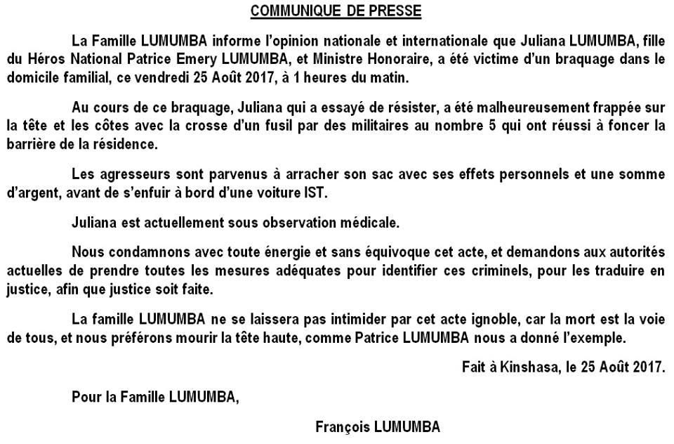 Communiquee de la famille Lumumba.jpg