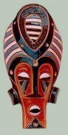 Masque  Bantou