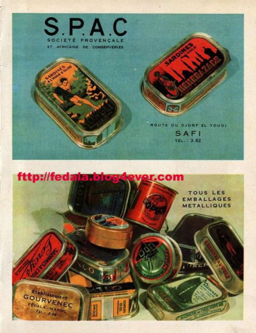 boites metalliques de conserve