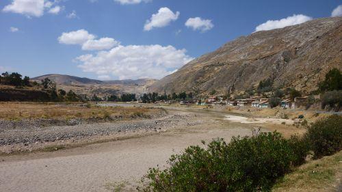 La vallée du Rìo Mantaro