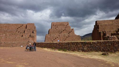 Porte sur le chemin de l'inca