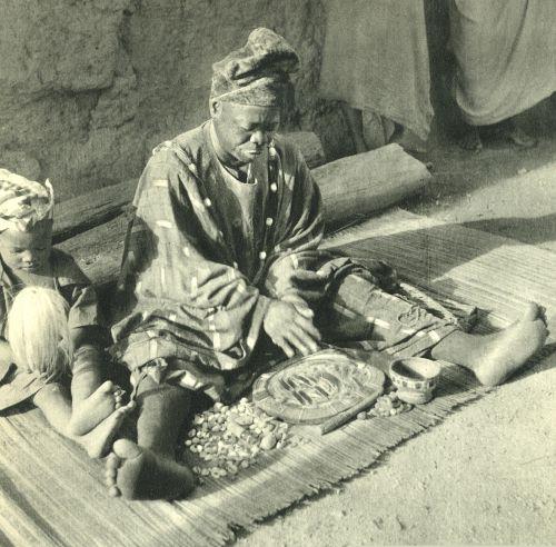 Noix de palme d'Ifa