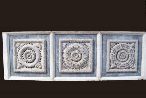 détail de l'autel - baptistére de Pistoia