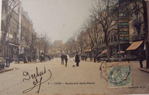 14 Caen Boulevard St Pierre.
