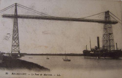 17 Rochefort - Pont Transbordeur de Martrou.
