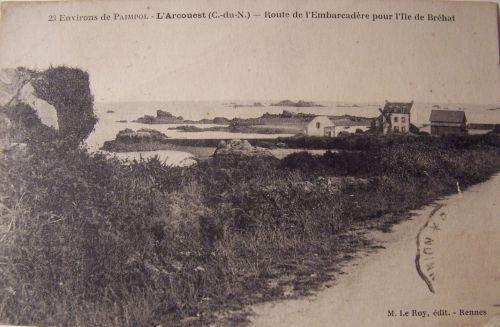 22 L'arcouest - embarquadère pour l'Ile de Bréhat.