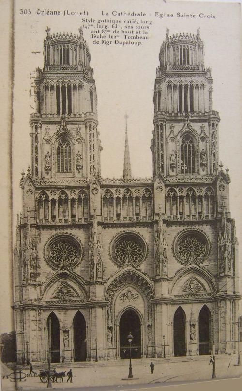 Orléans - La cathédrale -Eglise Ste Croix