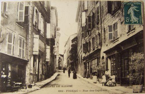 Figeac - Rue des capucins