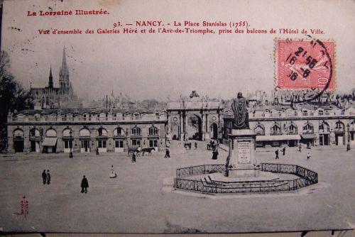 Nancy - La place Stanislas