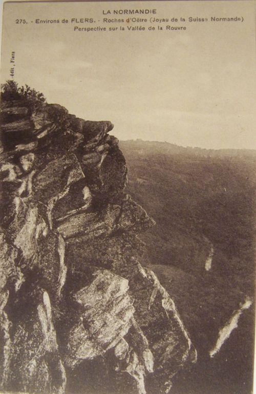 Flers - La roche d'Oëtre - Suisse normande