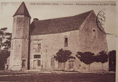 Pervenchères - Vauvineu - XIII éme siécle