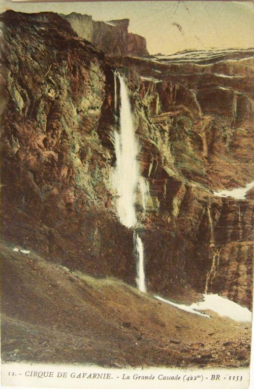 Gavarnie- Le cirque et la grande cascade