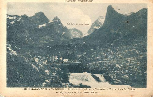 Pralognan- Sentier du col de la Vanoise