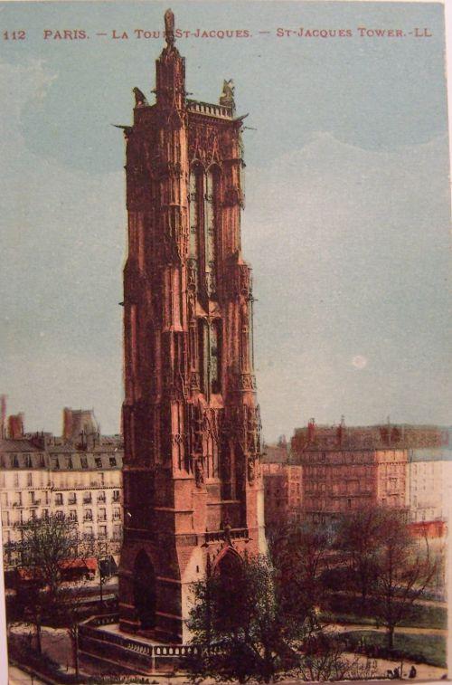 Paris - La tour St Jacques
