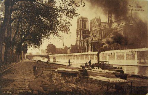Paris - Les matelassiers sur la berge