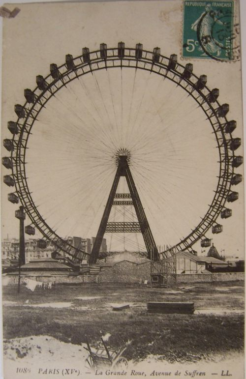 Paris - La grande roue avenue de Suffren