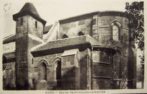 Paris - Eglise Saint Julien le pauvre 2
