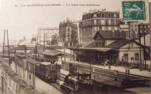 La Garenne Colombes - vue intérieure de la gare