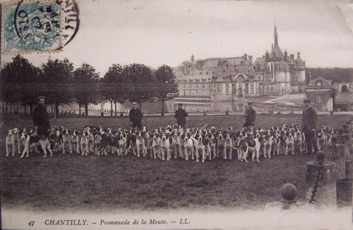 Chantilly - Scène de chasse