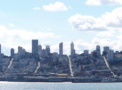 San Francisco vu de l'ïle